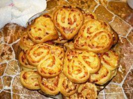 Оригинальное печенье-закуска с мясом. На вид и вкус просто потрясающее!