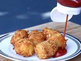 Супер быстрый рецепт вкусной горячей закуски