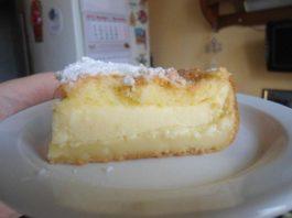 Умное пирожное без хлопот: просто все перемешать и вылить на противень!