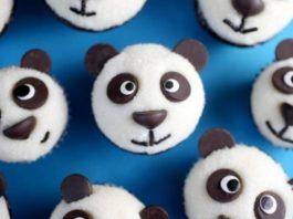 Шоколадные кексы-панды, деткам на радость!