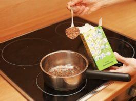 Отваp льна – недорогой и эффективный метод похудения