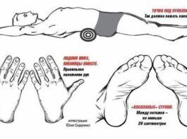 Как с помощью полотенца убрать живот и выпрямить спину