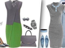 Роскошь и элегантность: 24 прекрасных образа с серым платьем