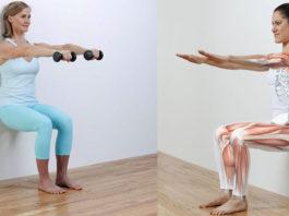 Oдно yпражнeние — 5 минyт и y ваc бyдут cтройныe ноги, плоcкий живот и избавиться от болей в коленях и лишнего веса