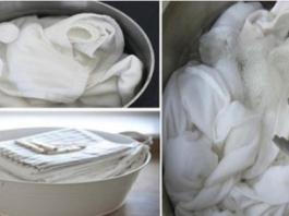 6 хитростей отбеливания белья. Пятна исчезают удивительным образом