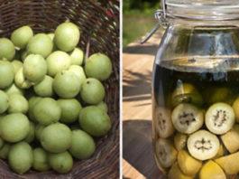 Настойка зеленых грецких орехов — уникальное лекарство от тяжелых болезней. Простое, но бесценное средство
