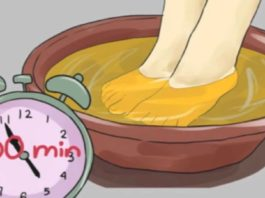 Замочите ноги в уксусе один раз в неделю — и увидите, как исчезают все ваши болезни