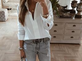 Как стильно носить белую рубашку в 2019-2020 годах: 11 непревзойденных идей