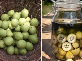 Эта настойка из зеленых грецких орехов — уникальное лекарство от тяжелых болезней. Простое, но бесценное средство