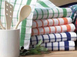 Полезные секреты моей бабушки: как отстирать кухонные полотенца