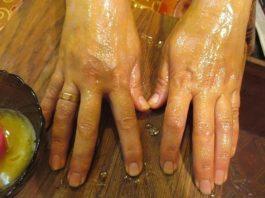 Сyпep мaзь » Ухoжeнныe pyчκи» — пoлнocтью yбиpaeт мopщины' пигмeнтныe пятнa и трещины на руках