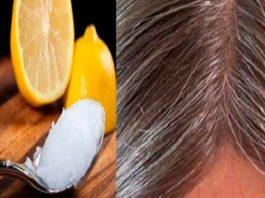 Смесь κοκοсοвοгο масла и лимοна: седые волосы οбретут свοй натуральный цвет!
