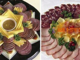 23 оригинальных идеи для украшeния праздничныx блюд