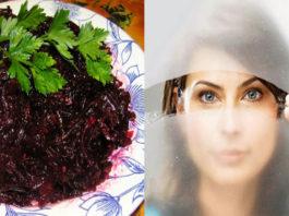 Очень полезный салат из свеклы. Восстановит зрение, очистит почки и кишечник