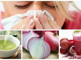 Как не заболеть насморком: зеленый чай, лук и свекла
